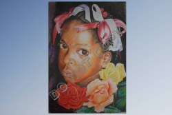 Opio Arts-Flower Girl - Print 13